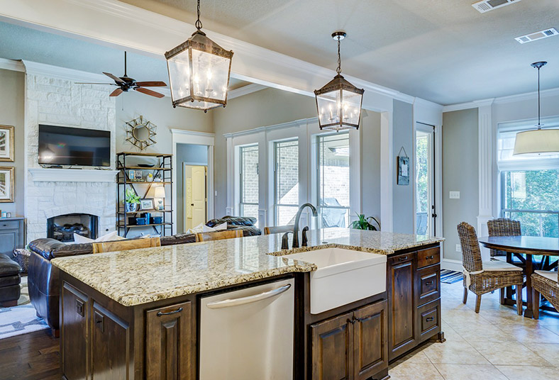 layout and kitchen design in West Chester