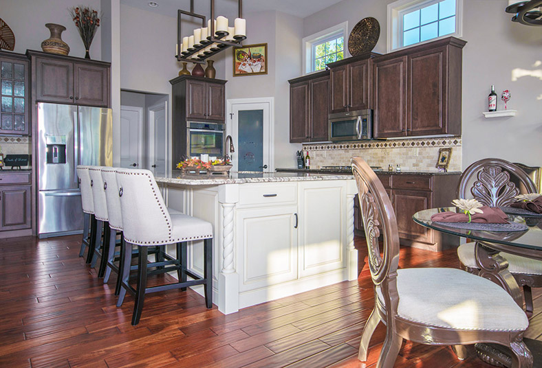 kitchen design and countertop options in Chadds Ford