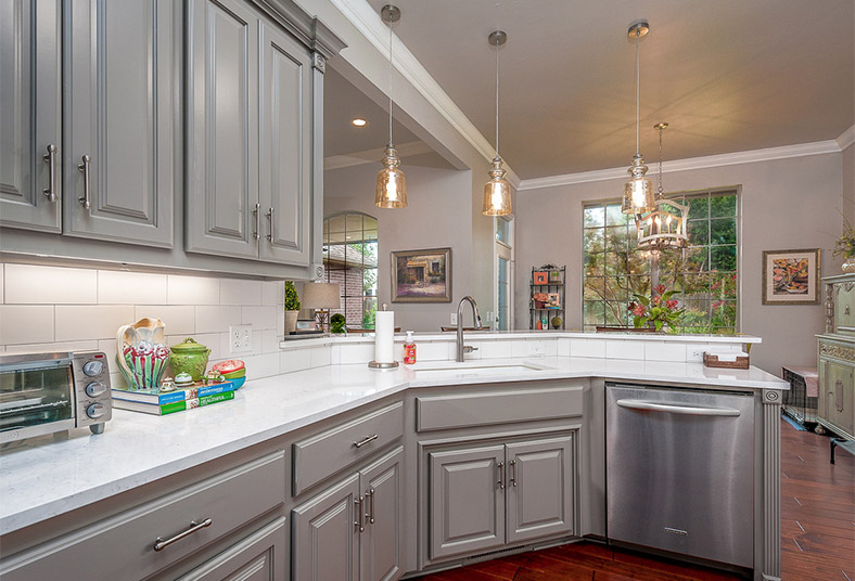 kitchen design and countertop options in West Chester