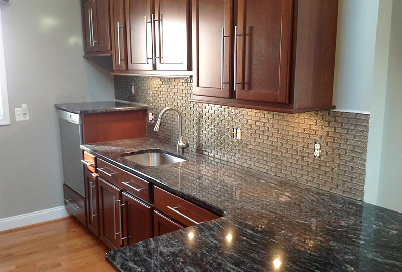 finished kitchen remodel & design in a West Chester home