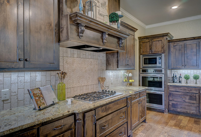 West Chester kitchen with white cabinets