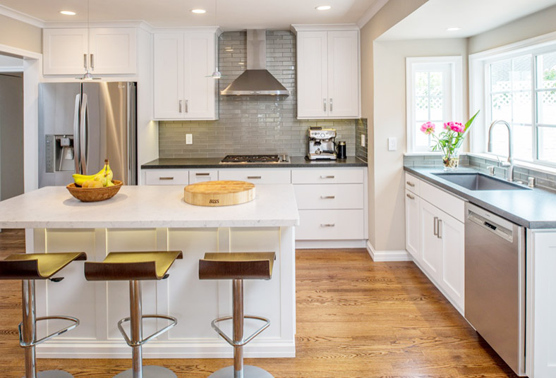 completed kitchen remodel in West Chester, PA