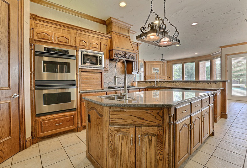 kitchen remodel with new lighting in West Chester