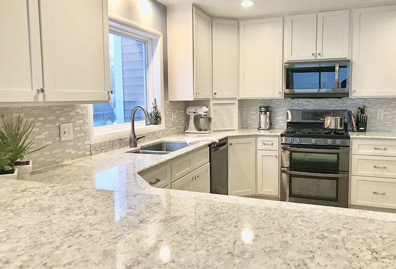 granite countertops for kitchen remodeling in West Chester