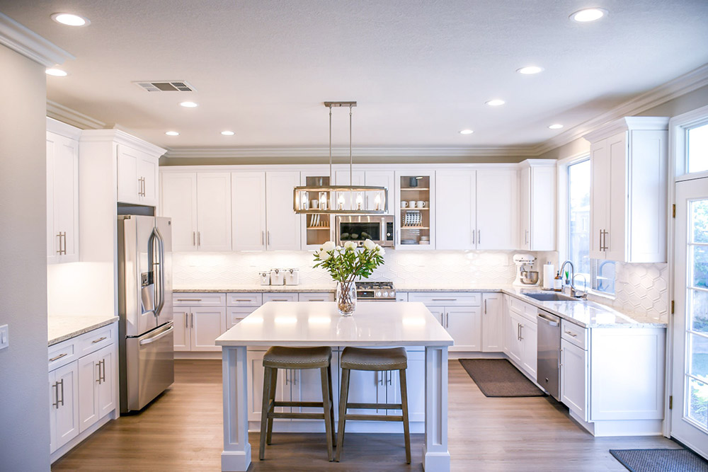 modern kitchen renovation in West Chester